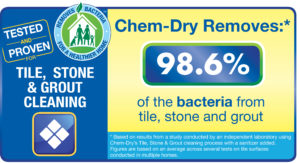 Tile, stone and grout cleaning professionals in Sunshine Coast and Hinterland remove 98.6% of bacteria - image